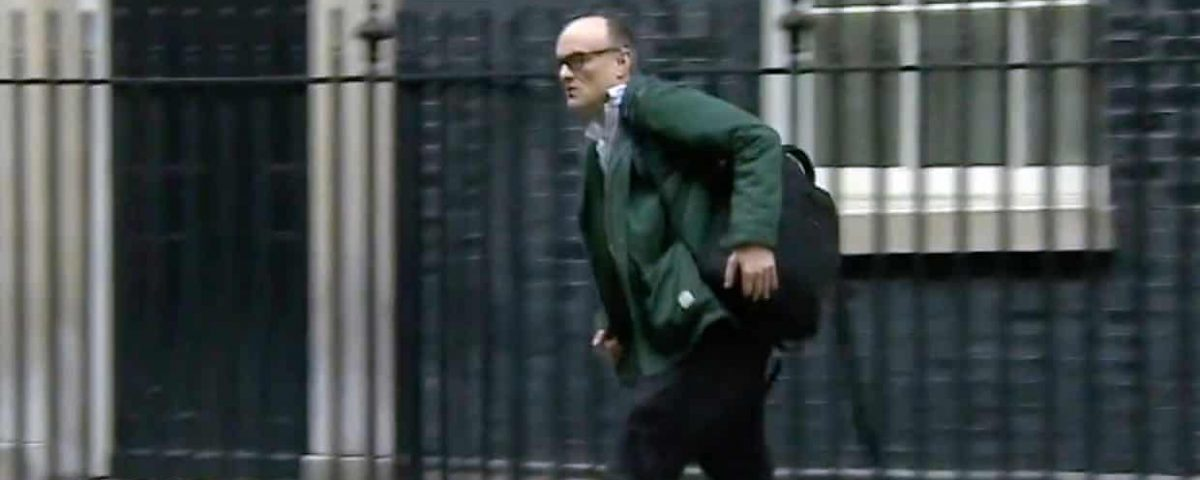 The Man in Downing Street. Dominic Cummings